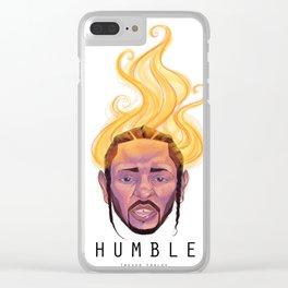 Humble - Kendrick Lamar Clear iPhone Case