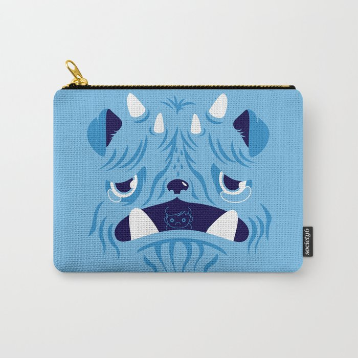 The Bluest Monster Ever :(( Carry-All Pouch