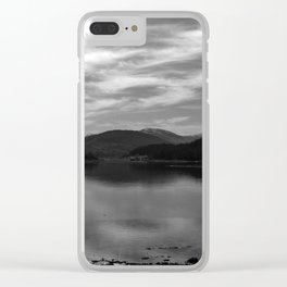 View over the L Clear iPhone Case