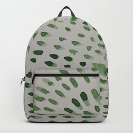 Green Mosaic  Backpack