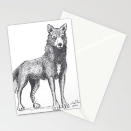 The Lone She-Wolf Stationery Cards