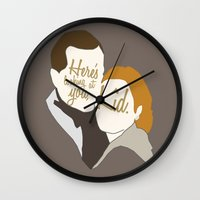 casablanca Wall Clocks featuring Casablanca by Swell Dame