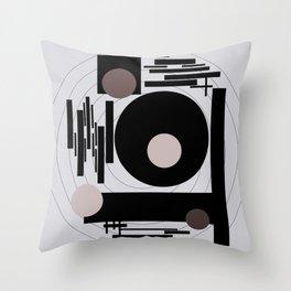 Optical Mink Throw Pillow