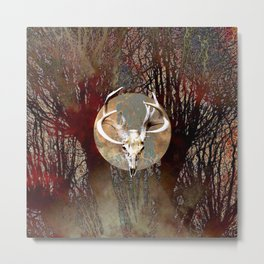 Bad Moon Rising I Metal Print