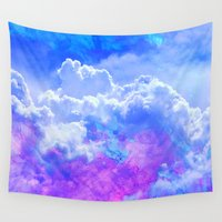 heaven Wall Tapestries featuring Heaven by Cale potts Art