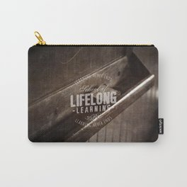 Lifelong Learning Carry-All Pouch