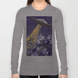 Abduction of the Delighted Lamb Long Sleeve T-shirt