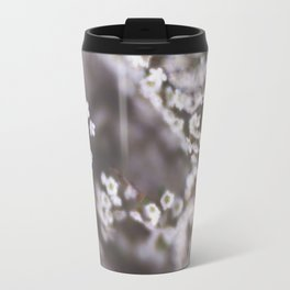 The Smallest White Flowers 03 Travel Mug