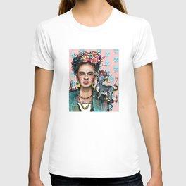 Frida + Perrito T-shirt