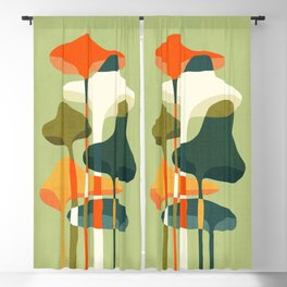 Little mushroom Blackout Curtain