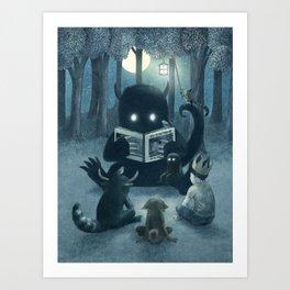 Reading Circle Art Print