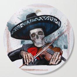 El Mariachi - Dia De Los Muertos Cutting Board