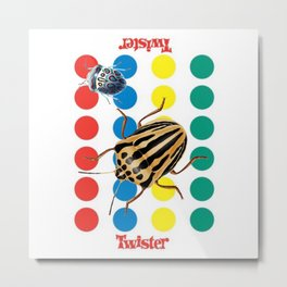 The Bug Games - Twister Metal Print
