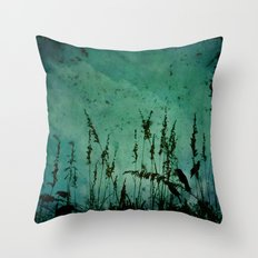 Five Crows Throw Pillow