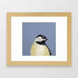 Eastern Songbird Series, Chickadee Framed Art Print
