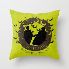 Take My Hand : Sherlock Throw Pillow