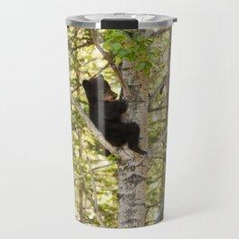Bear Cub Photography Print Travel Mug