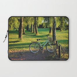 Sunrise at the forest Laptop Sleeve