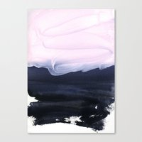 Canvas Prints featuring pink & blue by patternization