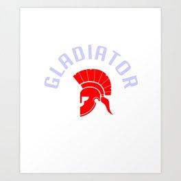 Gladiator, Roman Empire Art Print