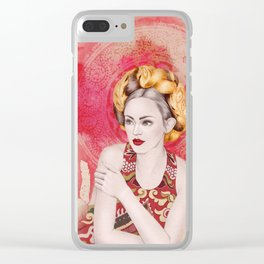 Traditional touch Clear iPhone Case
