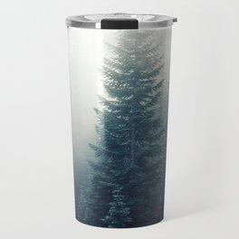 Forest and Fog Travel Mug