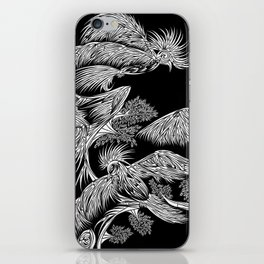 Japanese Birds Inverted iPhone Skin