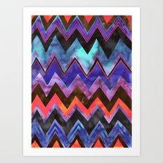 Chevron 11A Art Print