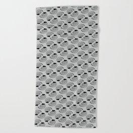 Braaains Beach Towel