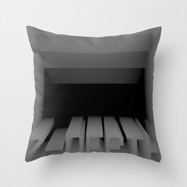 3D Z-DEPTH Throw Pillow