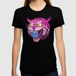 Floppy Disk Tiger T-shirt