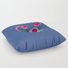 Lunch Date Floor Pillow