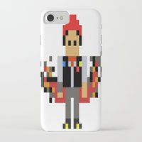 infamous iPhone & iPod Cases featuring Pixel Delsin Rowe (infamous) by 8 BITE