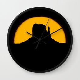 Monument Valley - Left Hand #2 Wall Clock