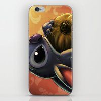 stitch iPhone & iPod Skins featuring Stitch by pandatails