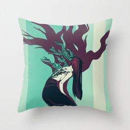 Blossom Belle Throw Pillow