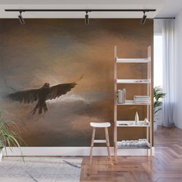 As The Crow Fly's Wall Mural