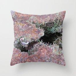 Mousse et lichen Throw Pillow
