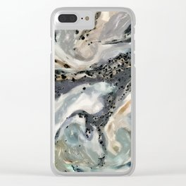 No. 8, Undefined Clear iPhone Case