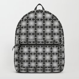 Shades of Grey | Geometric Pattern Backpack