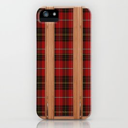 Its very scottish outside iPhone Case