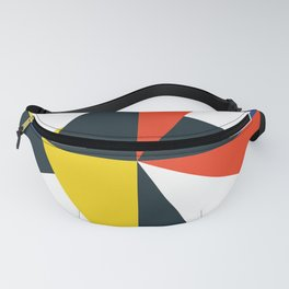 Mid Century Primary 02 Fanny Pack