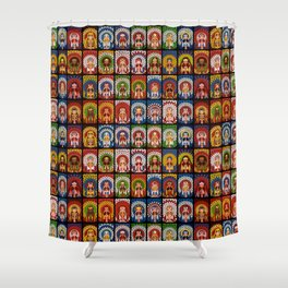 Complete Collection of FIFA 2014 Samba Girls Series Shower Curtain
