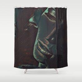 One Last Goodbye Shower Curtain