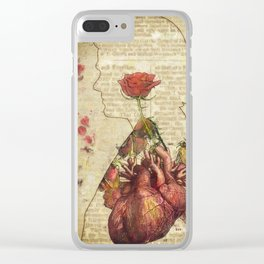 Rosaceae Clear iPhone Case