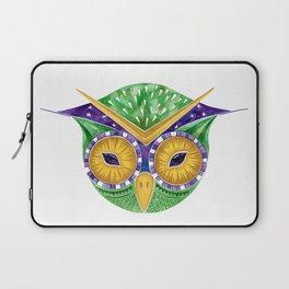 Nursery Green Owl Laptop Sleeve