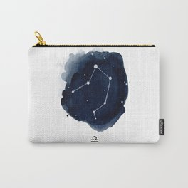Zodiac Star Constellation - Libra Carry-All Pouch