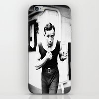 boxer iPhone & iPod Skins featuring Boxer by PureVintageLove