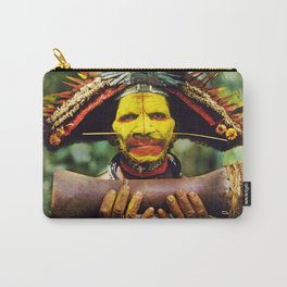 Papua New Guinea Chief Carry-All Pouch