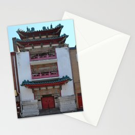 Old Philadelphia Chinatown building - original Stationery Cards